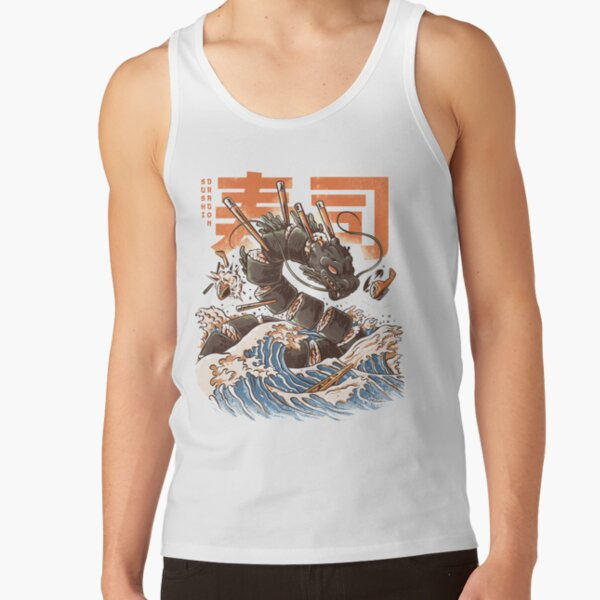 Great Sushi Dragon  Tank Top