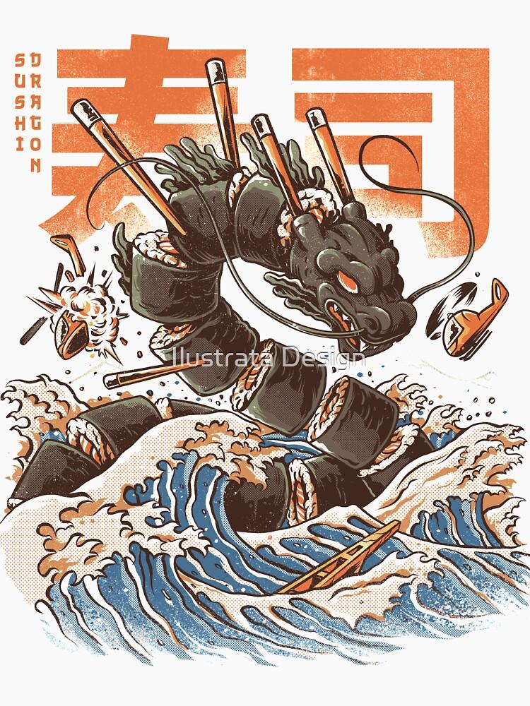Great Sushi Dragon de ilustrata