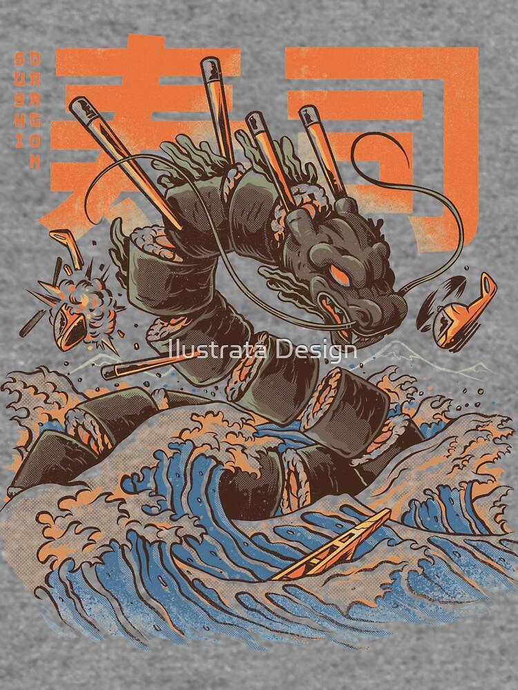 Great Sushi Dragon  by ilustrata