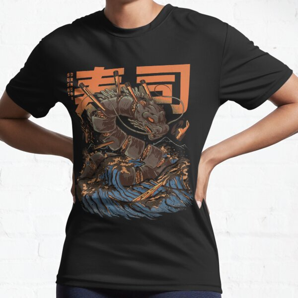 Great Sushi Dragon  Active T-Shirt