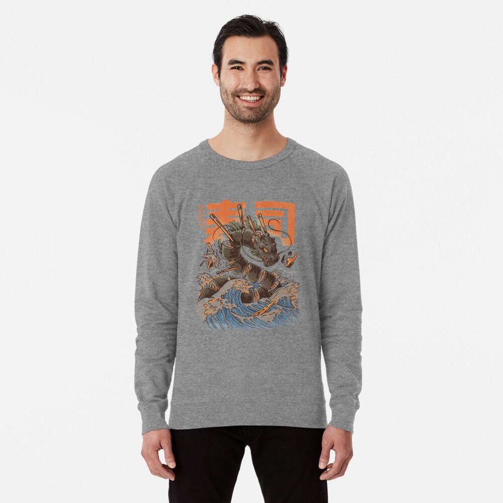 Great Sushi Dragon  Lightweight Sweatshirt
