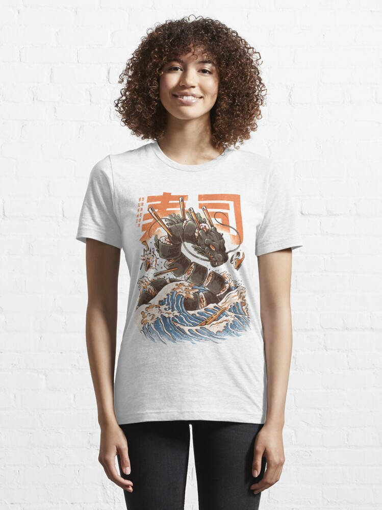Alternate view of Great Sushi Dragon  Essential T-Shirt