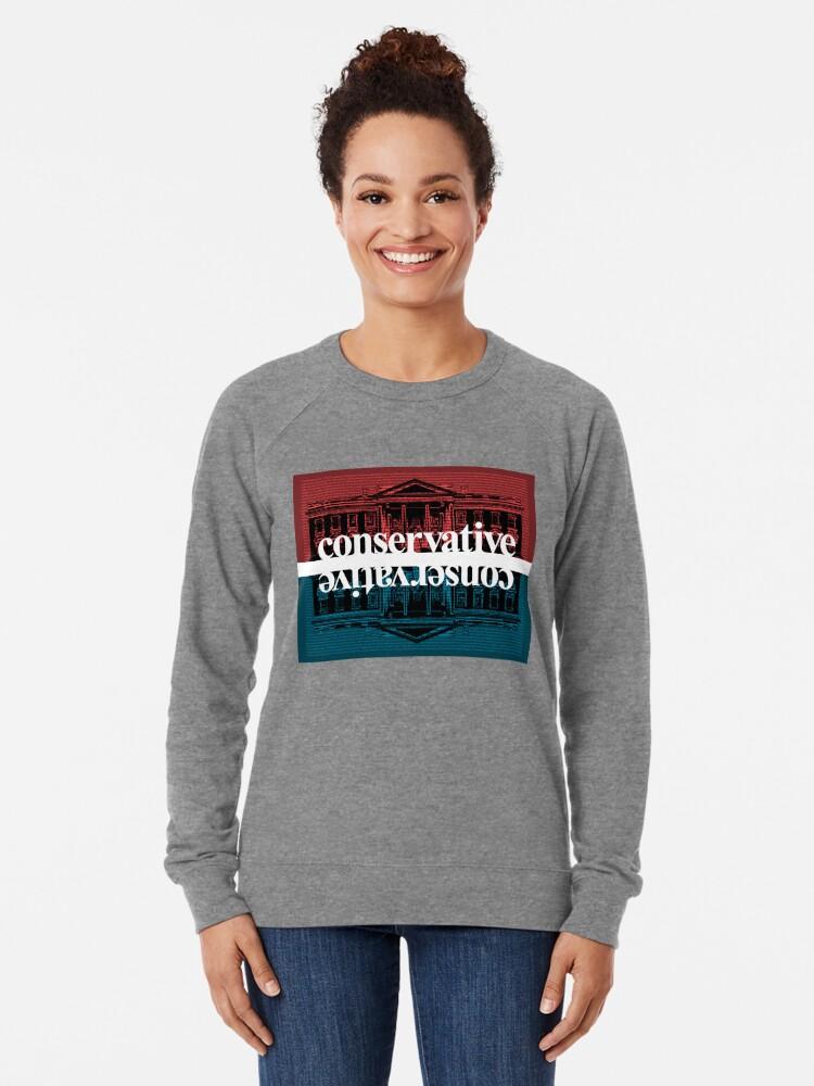 Alternate view of Conservative Lightweight Sweatshirt
