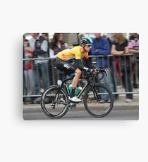 Bradley Wiggins - Tour of Britain 2013 Canvas Print