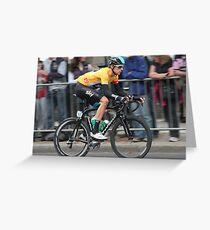 Bradley Wiggins - Tour of Britain 2013 Greeting Card