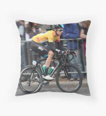 Bradley Wiggins - Tour of Britain 2013 Throw Pillow