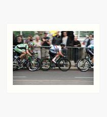 Mark Cavendish Tour of Britain 2013 Art Print
