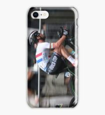 Mark Cavendish Tour of Britain 2013 iPhone Case/Skin