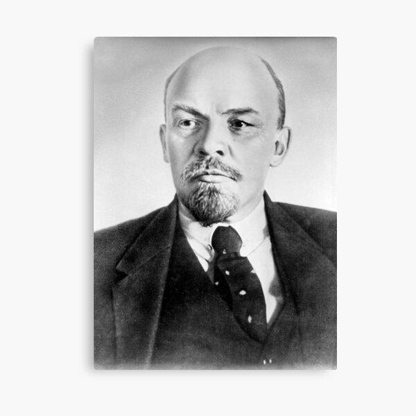Vladimir Lenin. Vladimir Ilyich Ulyanov, better known by his alias Lenin, was a Russian revolutionary, politician, and political theorist. Canvas Print