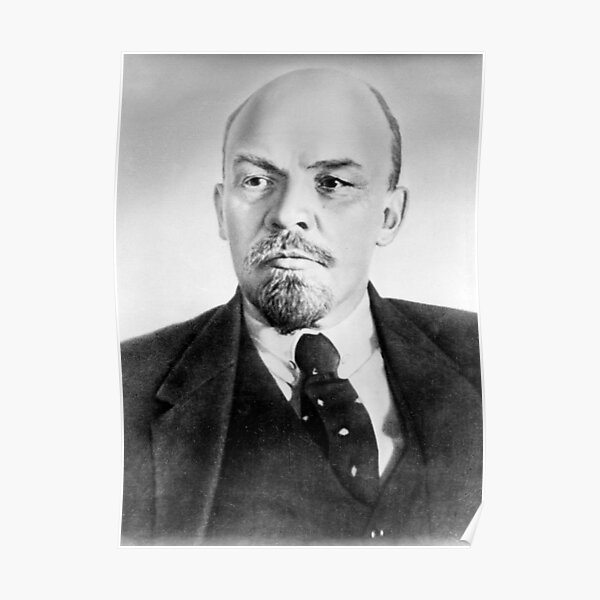 Vladimir Lenin. Vladimir Ilyich Ulyanov, better known by his alias Lenin, was a Russian revolutionary, politician, and political theorist. Poster