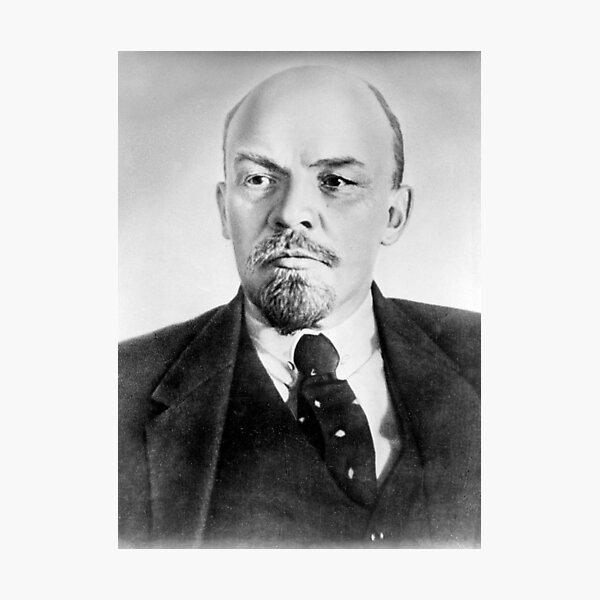 Vladimir Lenin. Vladimir Ilyich Ulyanov, better known by his alias Lenin, was a Russian revolutionary, politician, and political theorist. Photographic Print