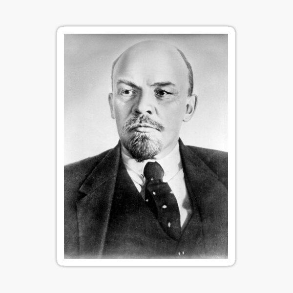 Vladimir Lenin. Vladimir Ilyich Ulyanov, better known by his alias Lenin, was a Russian revolutionary, politician, and political theorist. Glossy Sticker