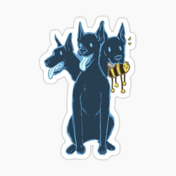 LO Cerberus Sticker