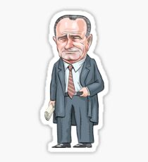 President Lyndon B. Johnson  Sticker