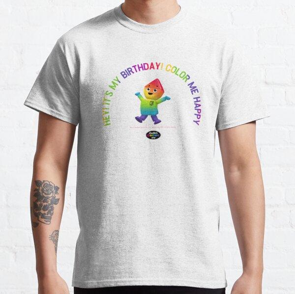 Charlie's Colorforms City - Color Me Happy Classic T-Shirt
