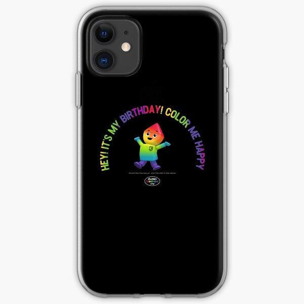 Charlie's Colorforms City - Color Me Happy iPhone Soft Case