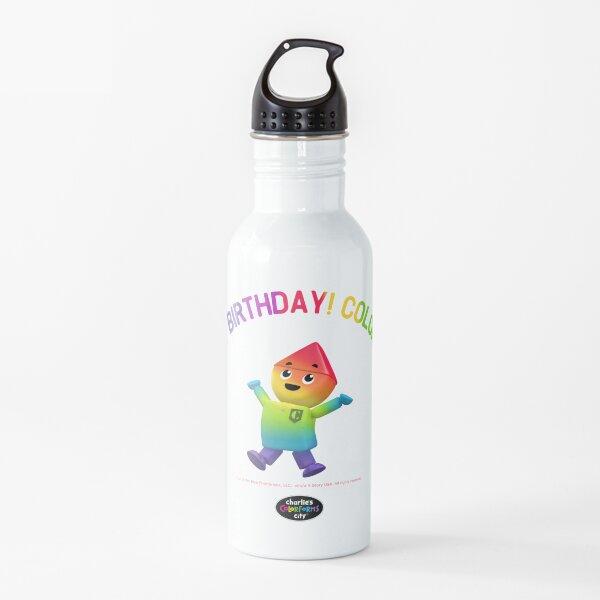 Charlie's Colorforms City - Color Me Happy Water Bottle