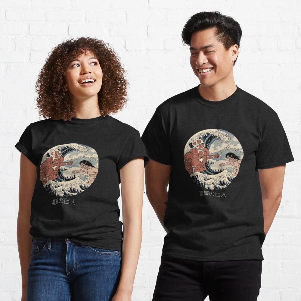 Attack on Titan - Kanagawa Wave Classic T-Shirt
