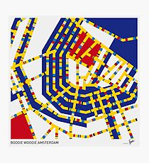 BOOGIE WOOGIE AMSTERDAM Photographic Print