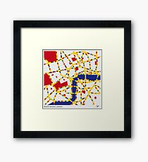 BOOGIE WOOGIE LONDON Framed Print