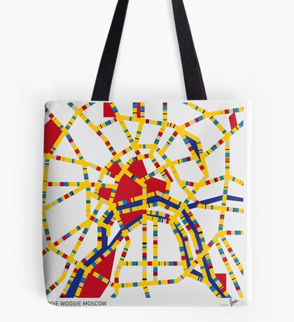 BOOGIE WOOGIE MOSCOW Tote Bag