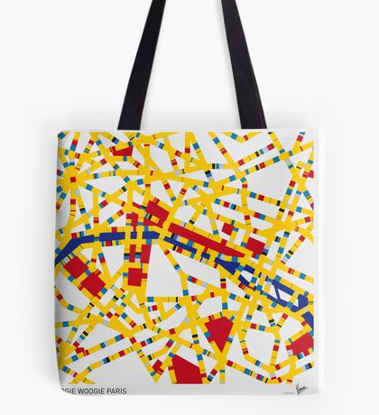 BOOGIE WOOGIE PARIS Tote Bag