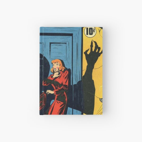 Adventures Into The Unknown - Haunted House Comic  Hardcover Journal