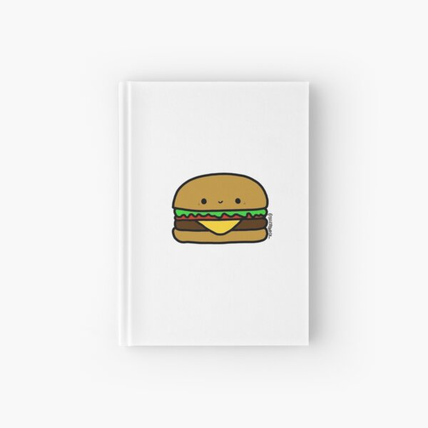 Burger Hardcover Journal