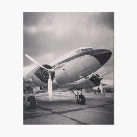 DC-3 Breitling Super Constellation Flyers Art Board Print
