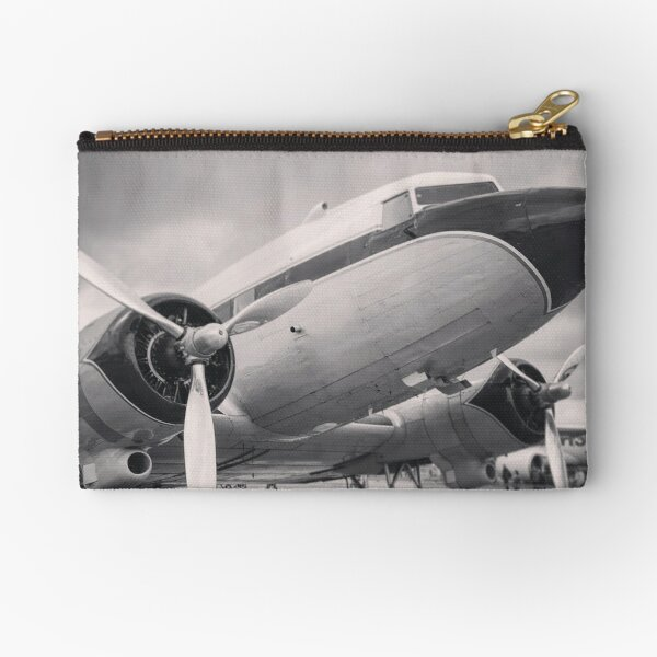 DC-3 Breitling Super Constellation Flyers Zipper Pouch