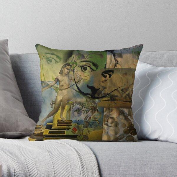 Dalí Dreams Salvador Throw Pillow