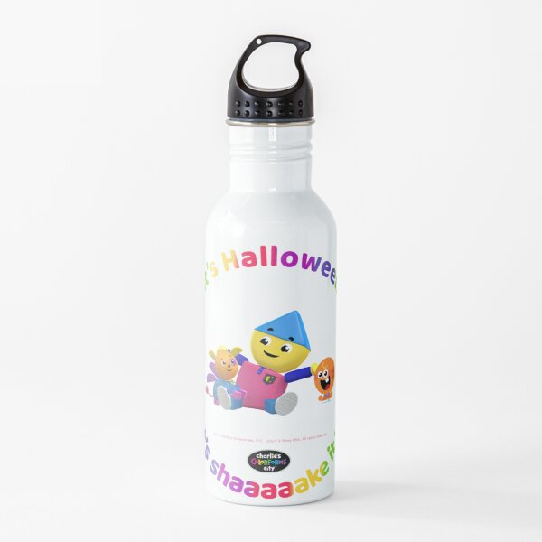 Charlie's Colorforms City - Let's Shaaaaake it up Water Bottle