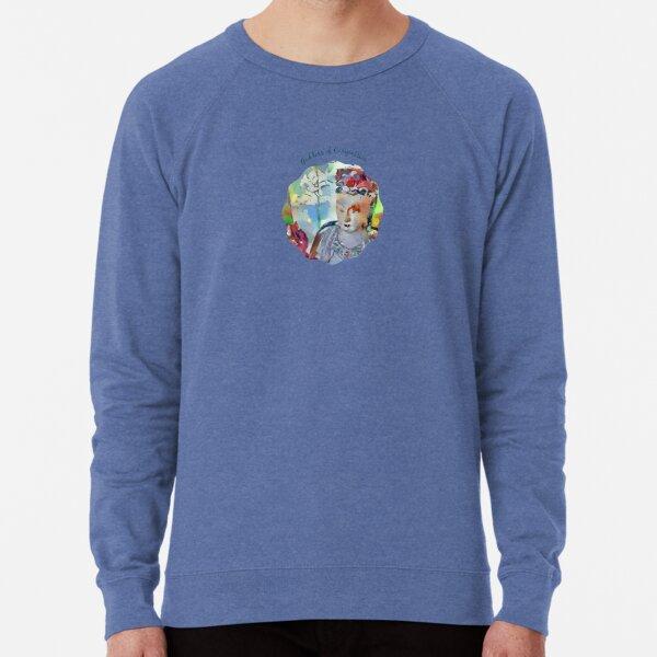 Goddess of Compassion-Kuan Yin-Guanyin- Guan Yin-Buddhist Lightweight Sweatshirt