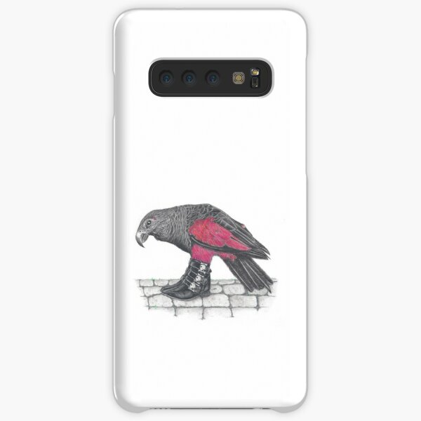 Dracula parrot in skull buckle boots Samsung Galaxy Snap Case