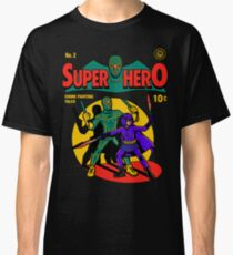 Superhero Comic Classic T-Shirt