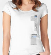 Windows To The Soul Women's Fitted Scoop T-Shirt