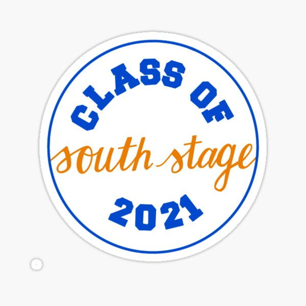 Class of South Stage 2021 Sticker