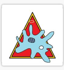 """Mother Protozoa"" by Richard F. Yates Sticker"