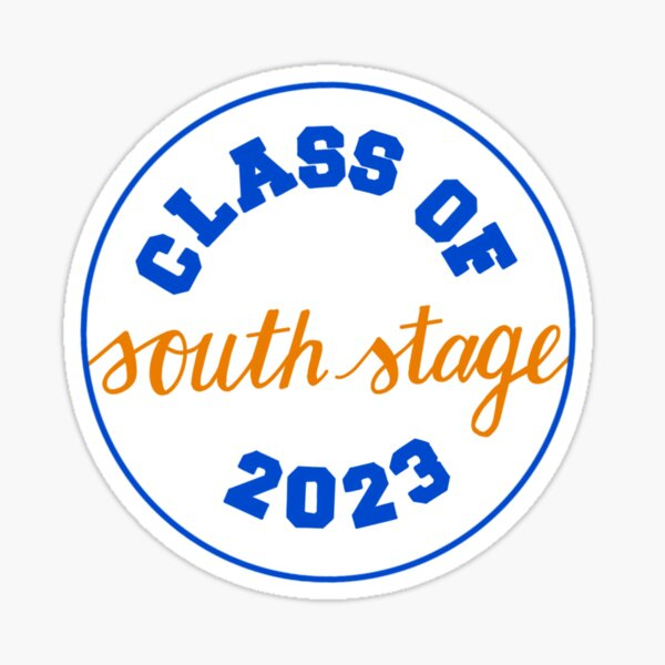 Class of South Stage 2023 Sticker