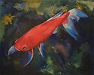 Haiku Koi Fish by Michael Creese