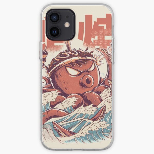 Takoyaki Attack iPhone Soft Case