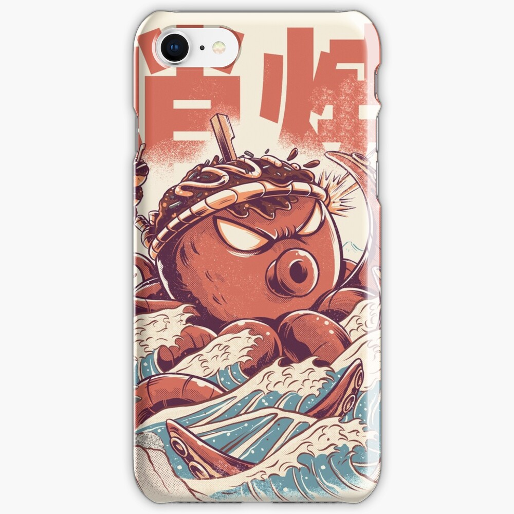 Takoyaki Attack iPhone Case & Cover