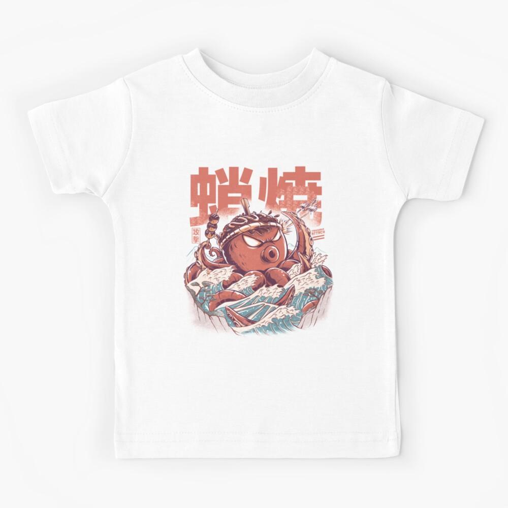 Takoyaki Attack Kids T-Shirt