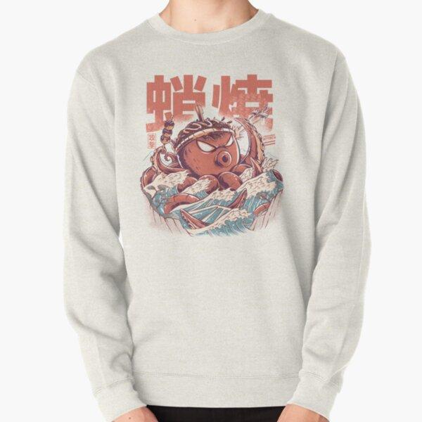 Takoyaki Attack Pullover Sweatshirt