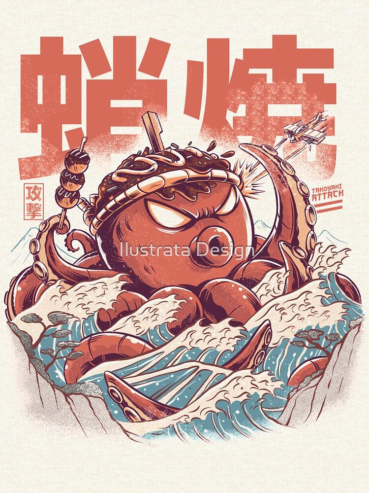 Takoyaki Attack by ilustrata