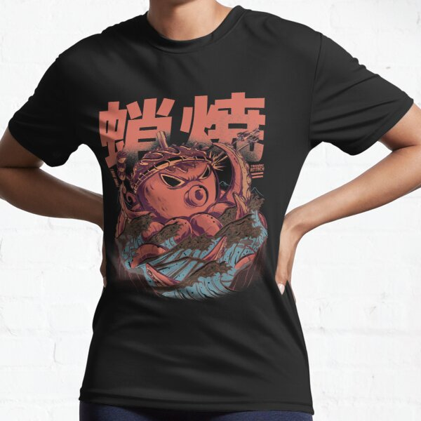 Takoyaki Attack Active T-Shirt