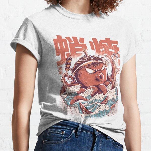 Ataque Takoyaki Camiseta clásica