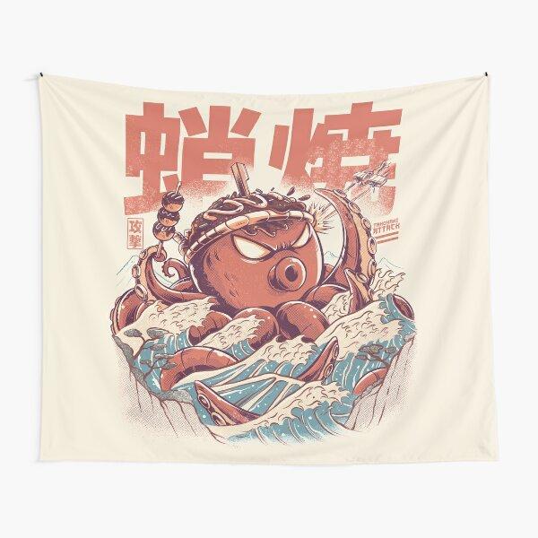 Takoyaki Attack Tapestry