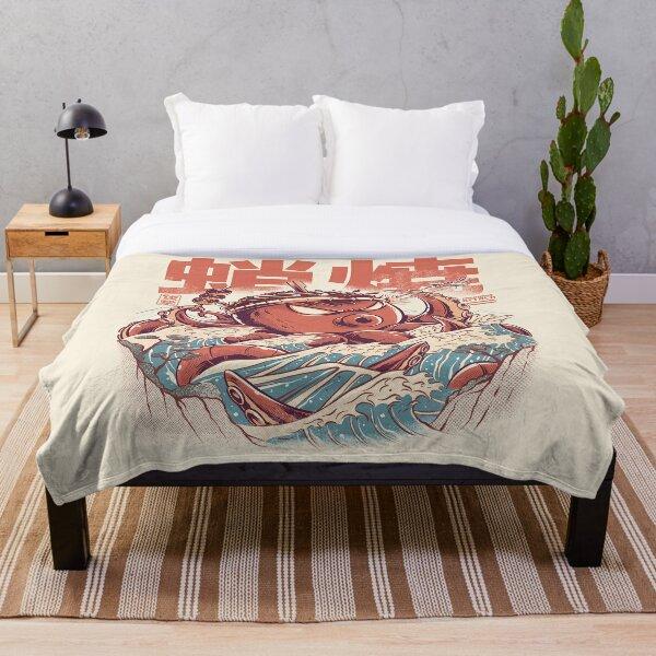 Takoyaki Attack Throw Blanket