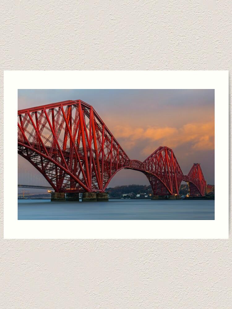 Alternate view of Forth Bridge (2) Art Print